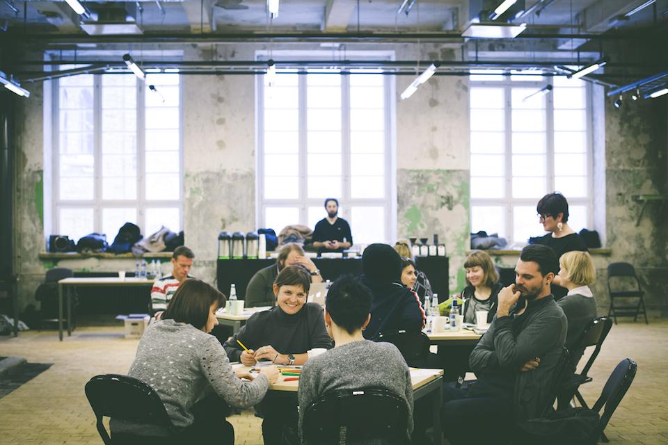 workplace eating designer