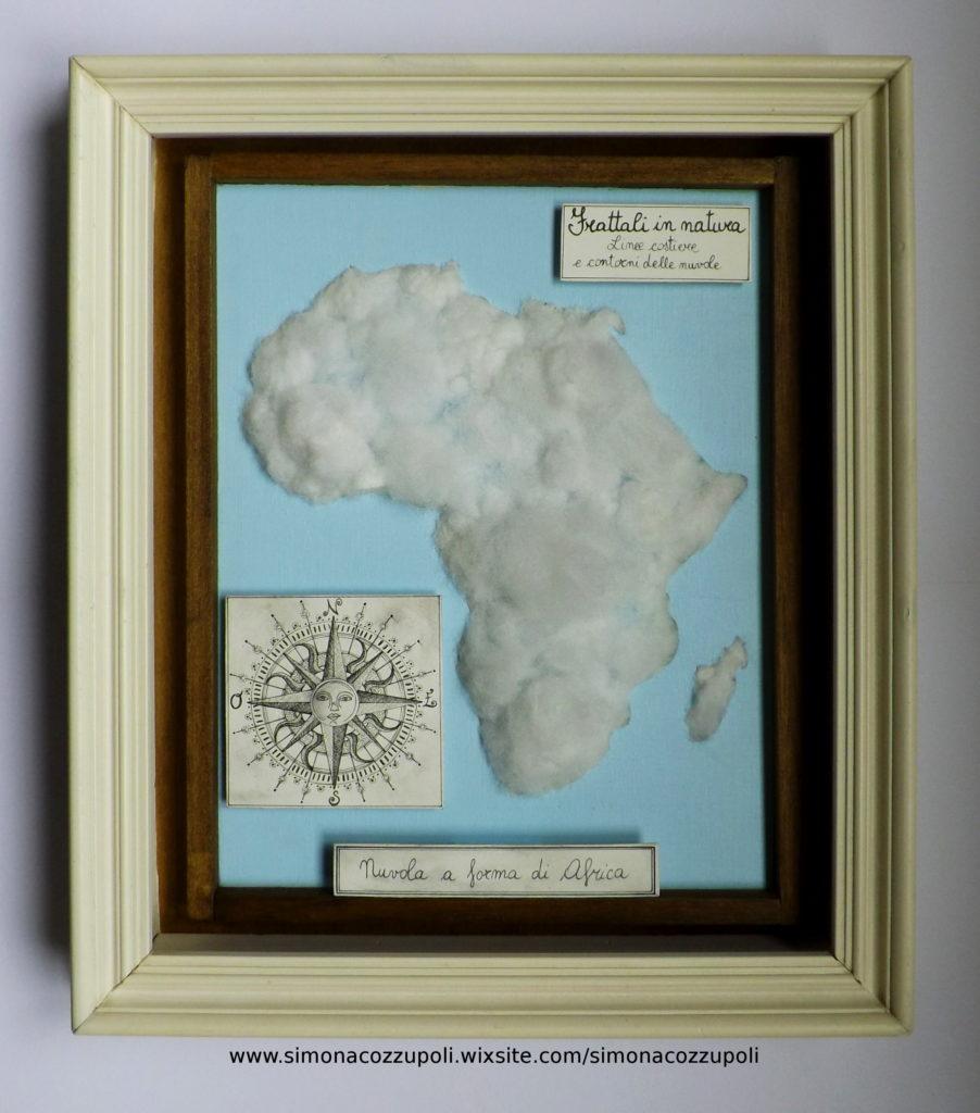 Nuvola a forma di Africa