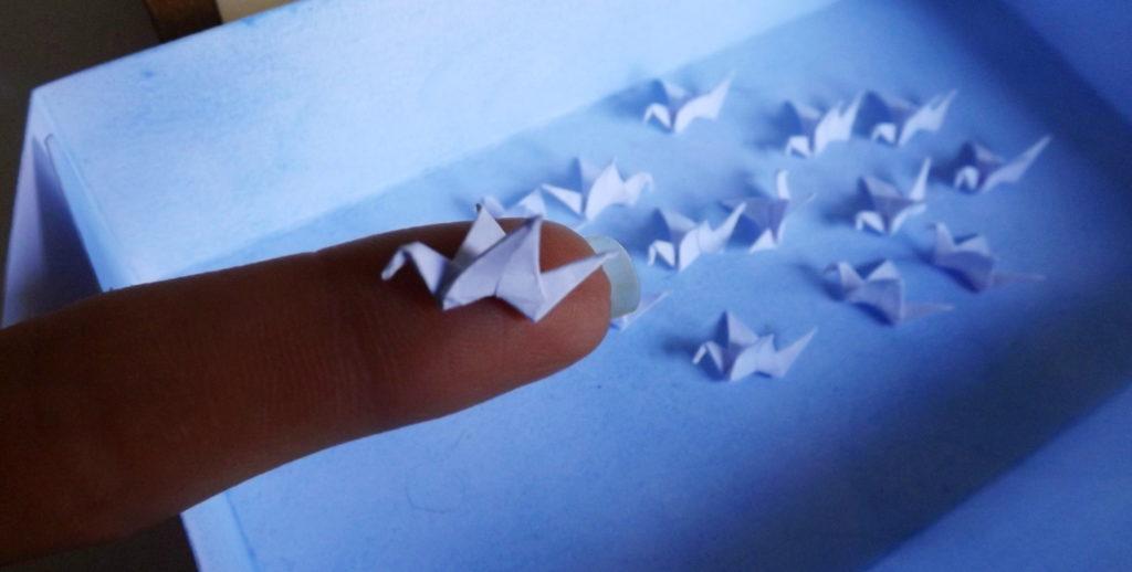 Origami in miniatura